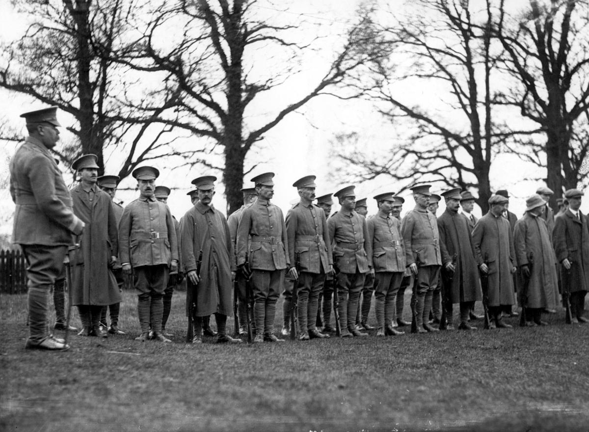 Volunteer Training Corps 1917