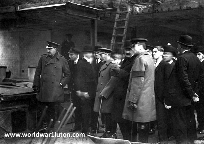 George V visit to Luton 1917