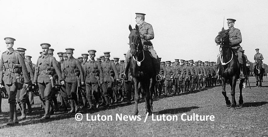 Kitchener's Review, Luton Hoo, 1914