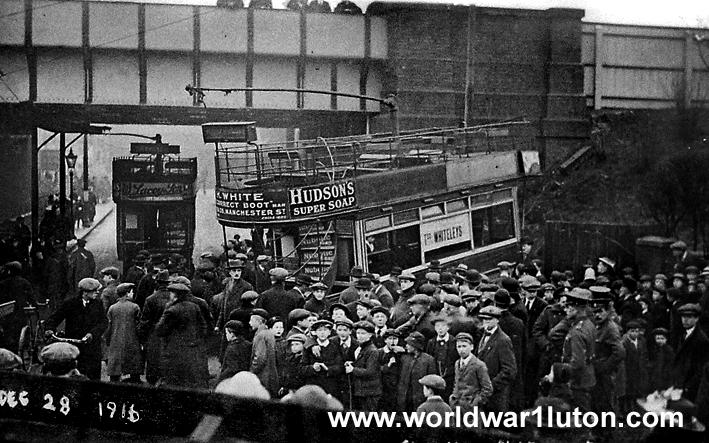 Tram crash 1916