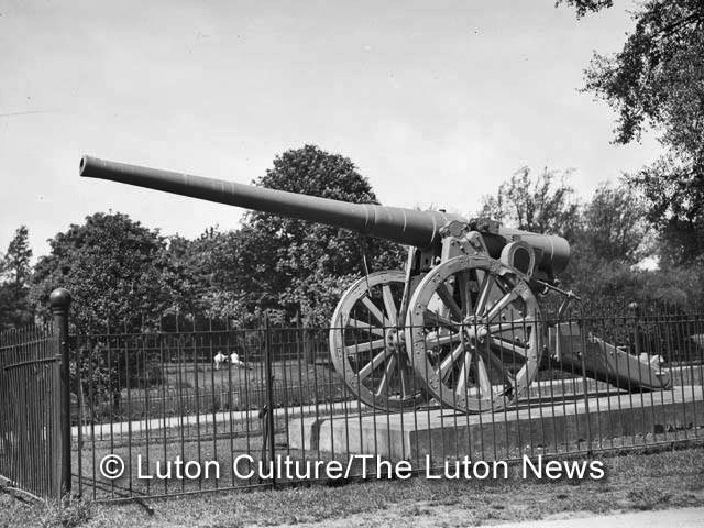Wardown captured cannon
