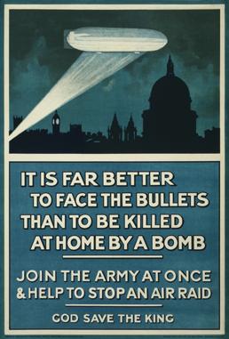 WW1 Zeppelin warning