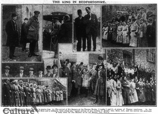 George V visit 1917