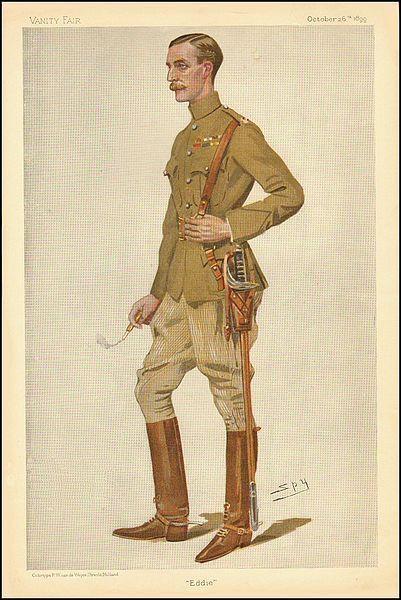 Edward James Montagu-Stuart-Wortley as pictured by Vanity Fair