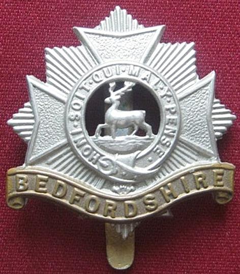 Beds Regiment badge