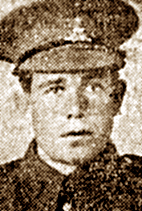 Pte Ernest George Chamberlain