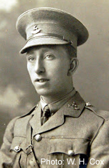 Second lieut Harold George Fyson