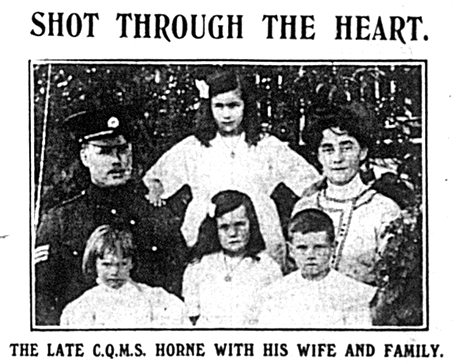 Joseph Horne and family