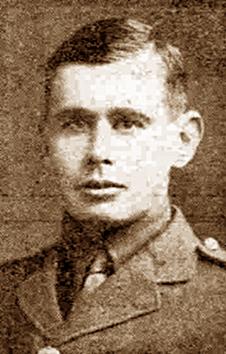 Second-Lieut Johnson Linsell (Photo: Thurston)
