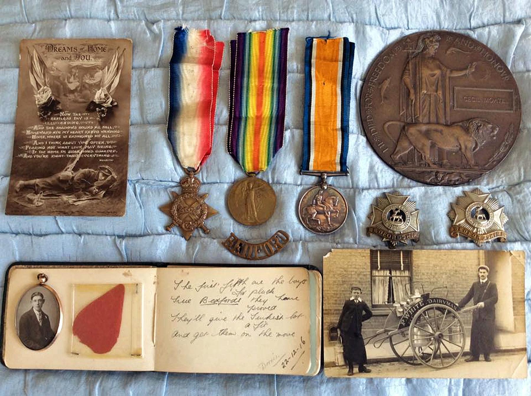 Cecil Moate memorabilia