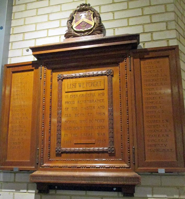 Luton Modern School War Memorial