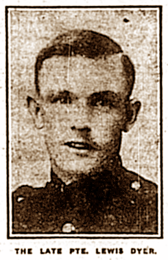 Pte Lewis Dyer