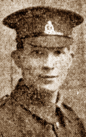 Pte Cyril Charles Scoats