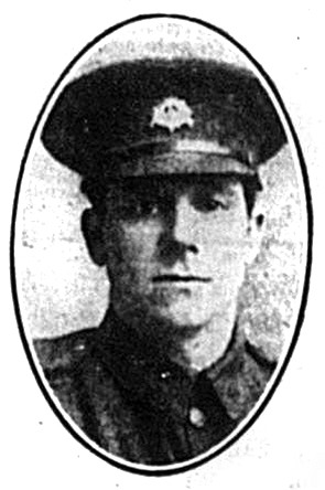 Pte Lionel Ralph Worsley
