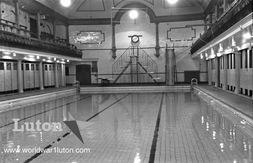 Waller Street Baths 1945