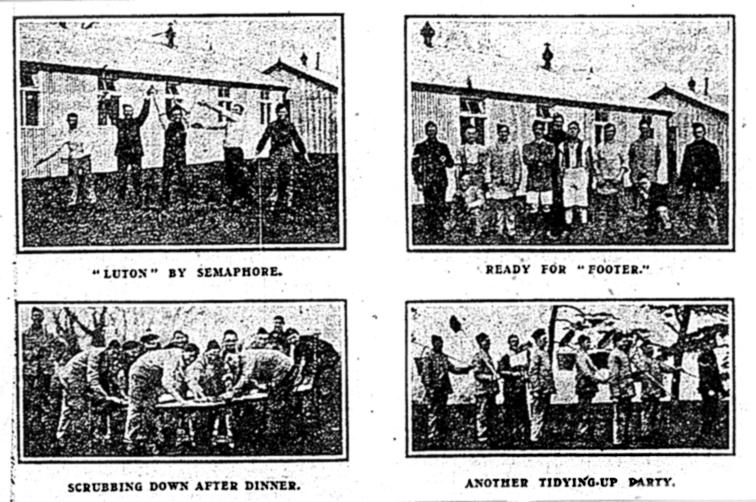 Ampthill Training Depot recruits