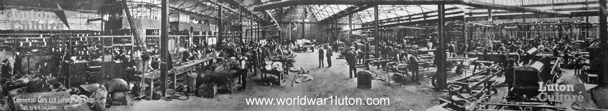 Commer Cars main shop