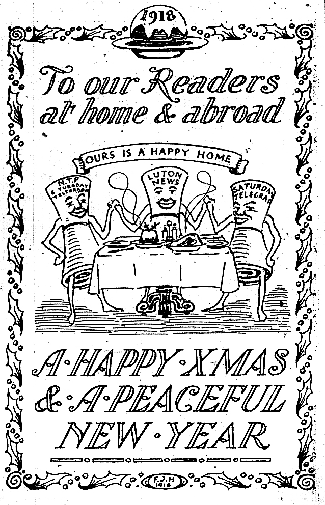 Xmas greetings 1918