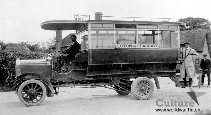 Commer bus 1909