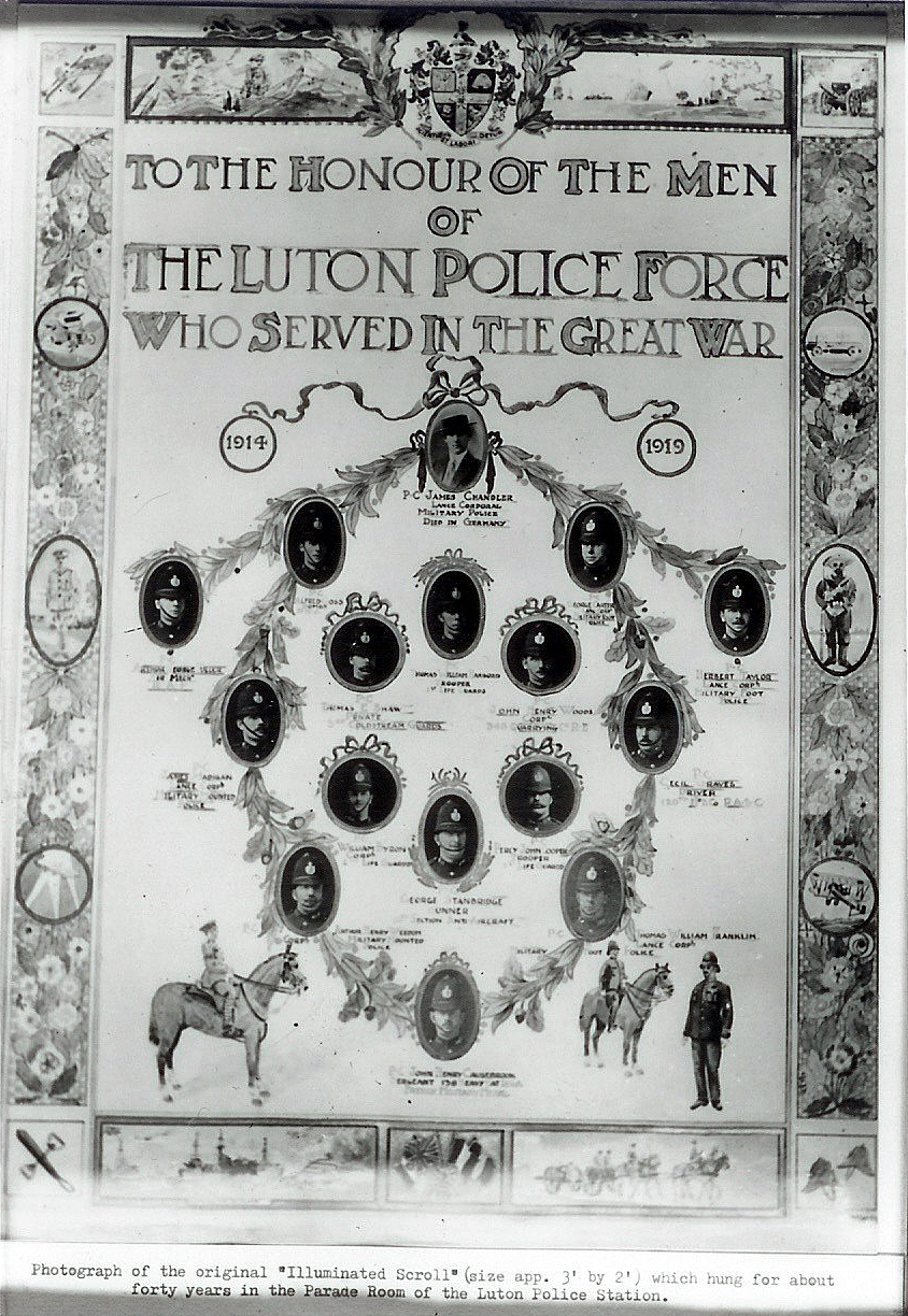 Police roll of honour