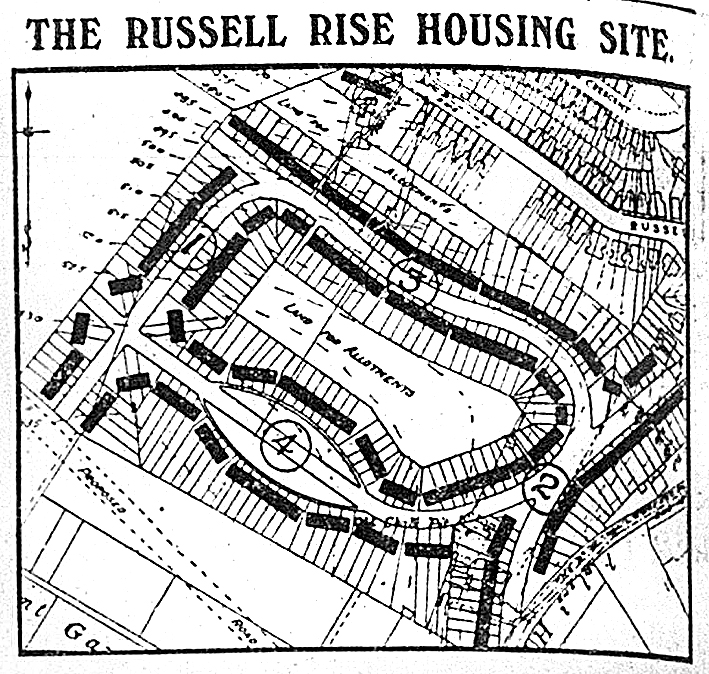 Russell Rise housing plan