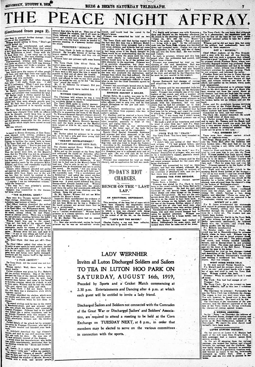 Saturday Telegraph riots3