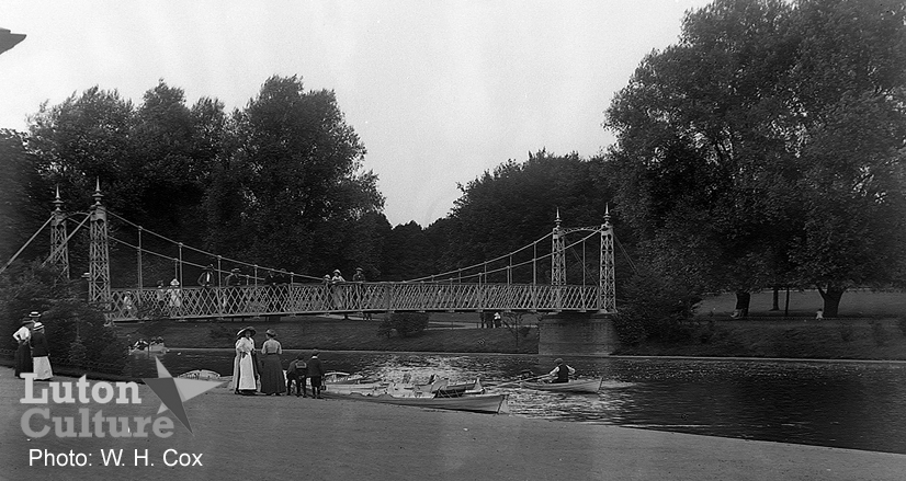 Wardown Lake c1914