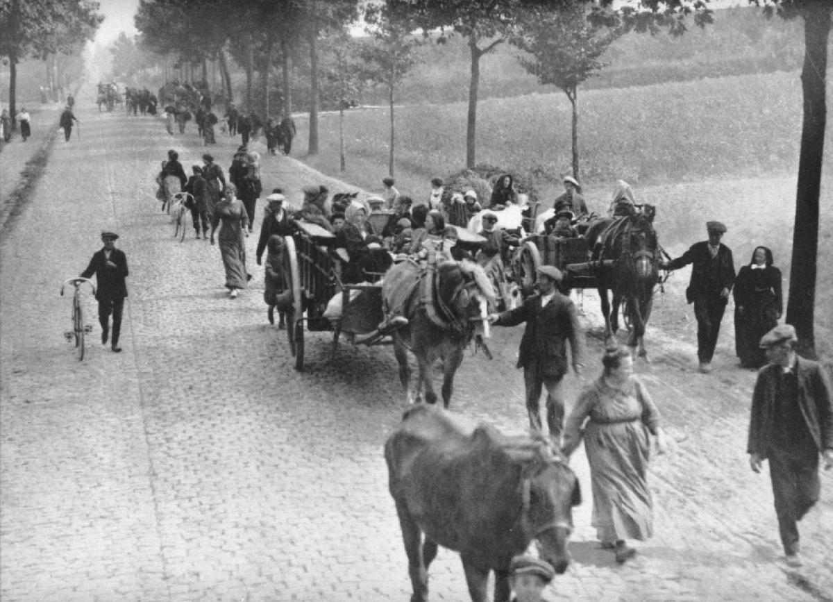 Belgian Refugees in Europe