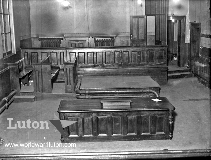 Luton Magistrates Court pre-1937