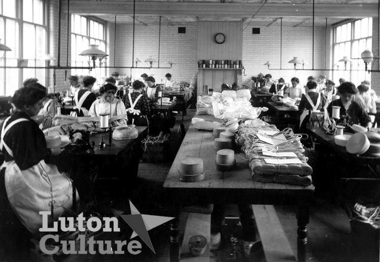 Dillingham hats workroom 1907