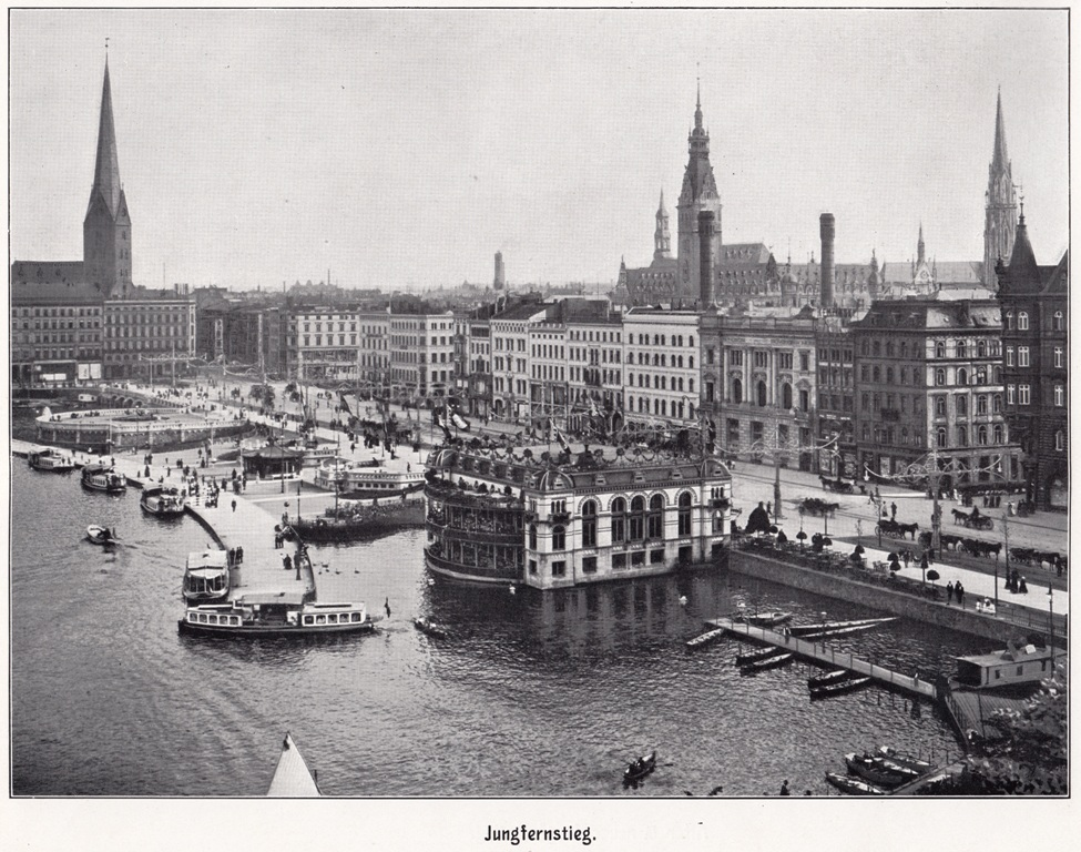 Hamburg in the 1900s