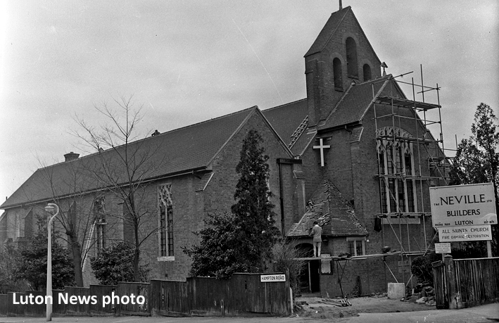 All Saints Church 1962