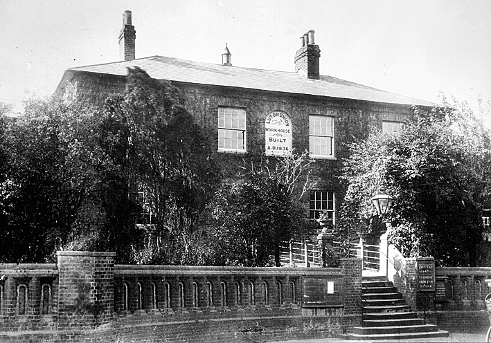Union House workhouse 1906