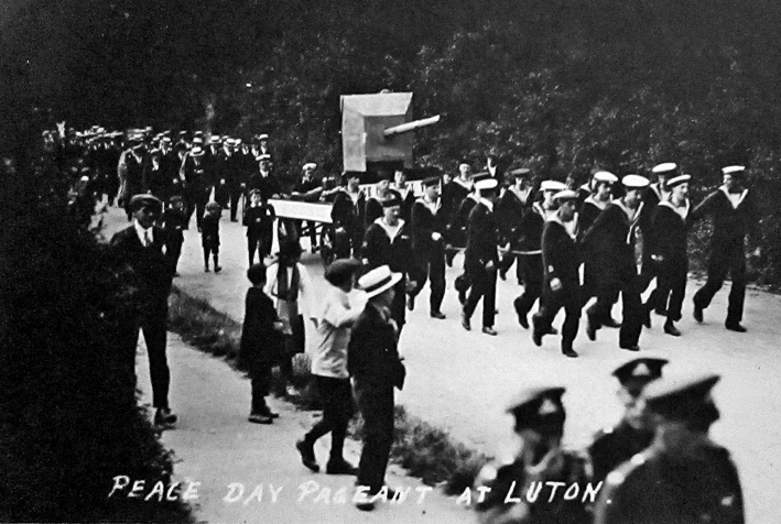 Comrades of the Great War Peace Day float 1919