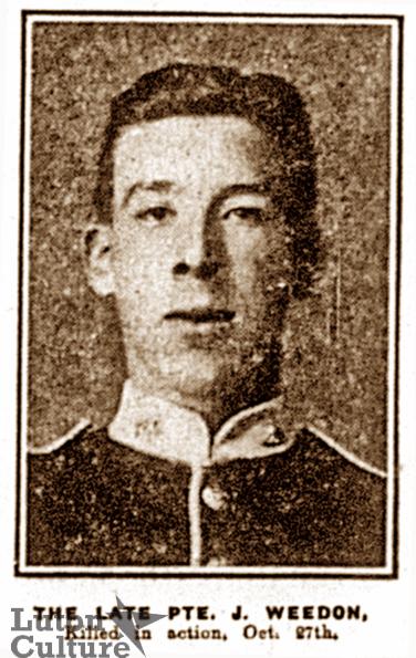 Private Jack Weedon