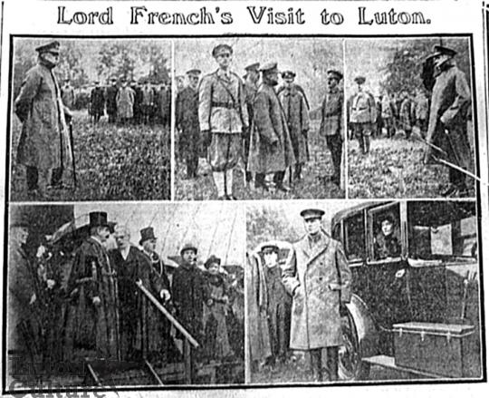 Lord French visit