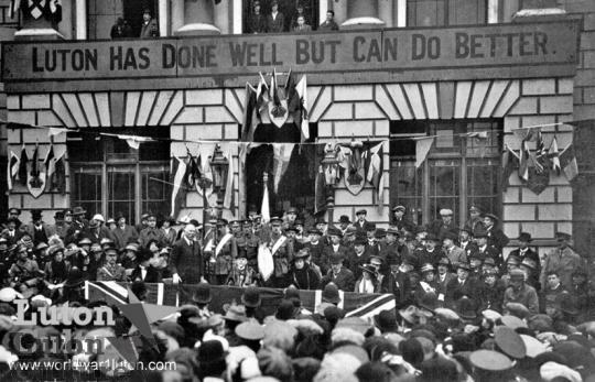 Recruiting rally, Oct 1915