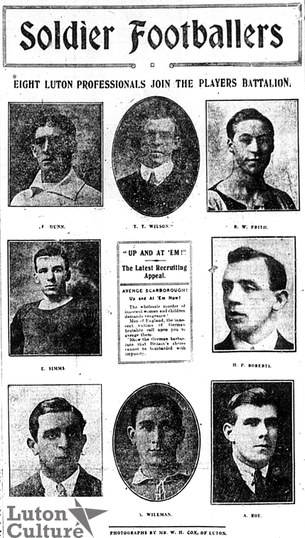 Soldier footballers