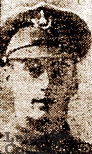 Pte Reginald Thomas Ashby