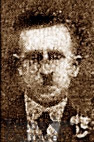 Pte William Ernest Burgess