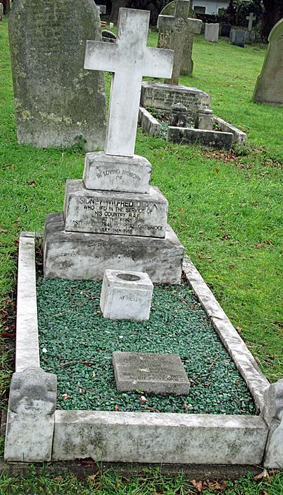 Clark gravestone