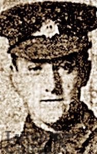 Pte Alfred George Cook