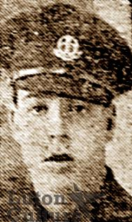 Pte Percy James Costin