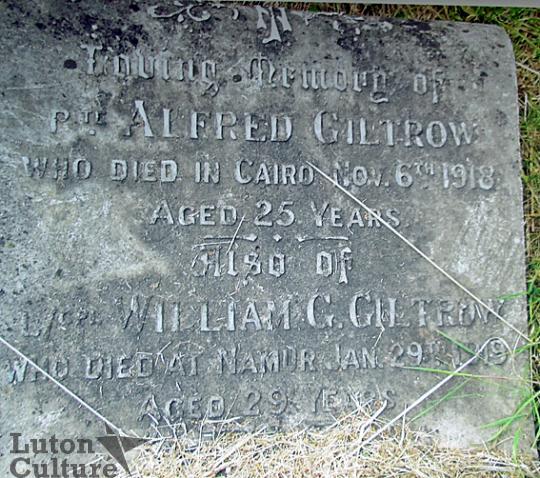 Giltrow memorial
