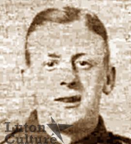 Cyclist Harry James