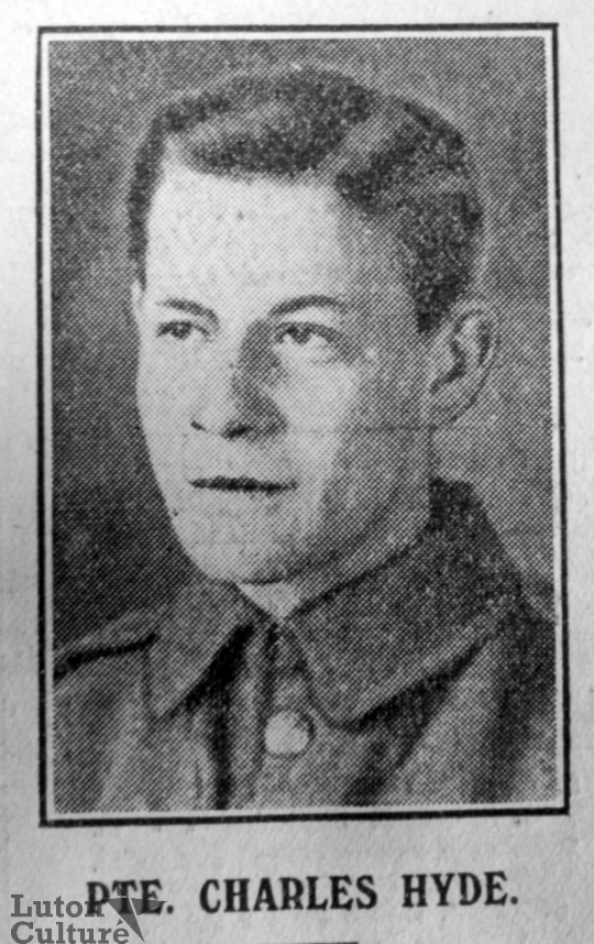 Pte Charles Hyde