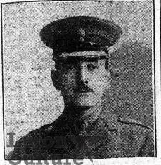 2nd Lieut Hubert Douglas Stratford