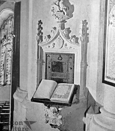 Book of Life, Luton Parish Church
