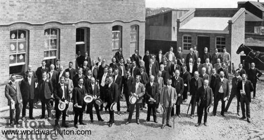 George Kent's factory opening 1908