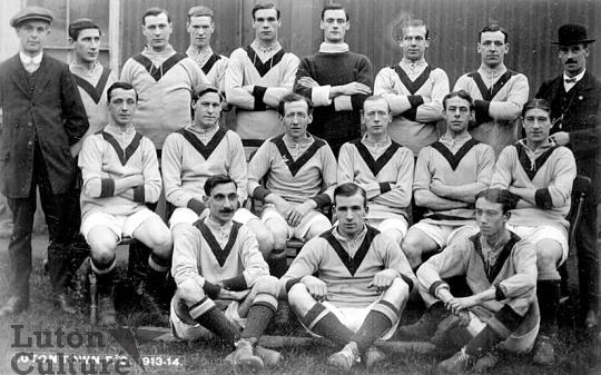 Luton Town FC 1913-14